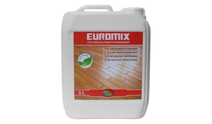 Лак паркетний поліуретановий EVROMIX- 1К