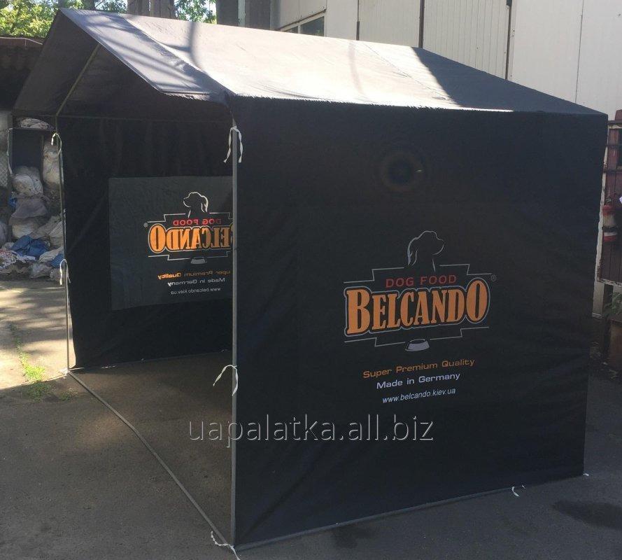 Палатка 3х2 м рекламная с логотипом, сублимационная печать