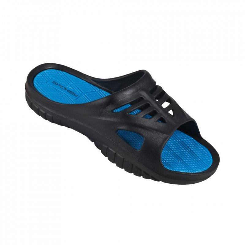 Slippers for the pool men's Spokey Merlin (original) blue
