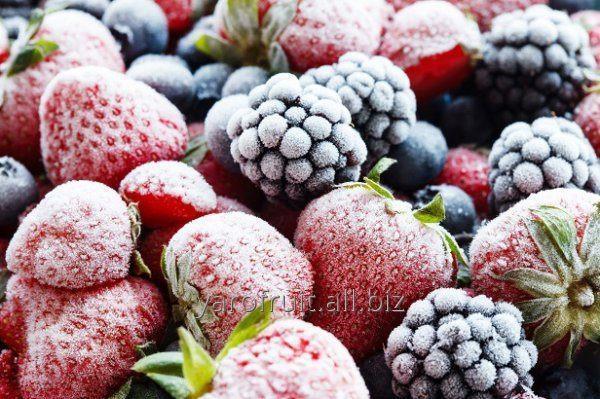 Замороженные ягоды (облипиха, вишня, клубника и другие)