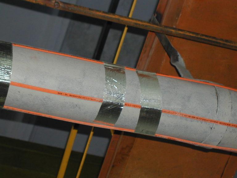 Система электрокабельного нагрева для труб SLL24-2CR