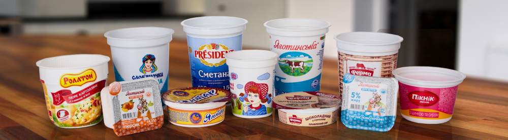 Купить Упаковка для кисломолочной продукции