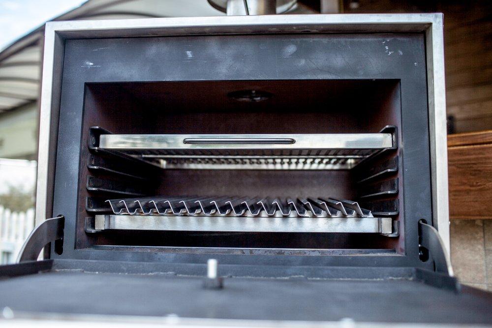 Купить Печь для ресторана с ребристой решеткой на древесном угле BQM-2