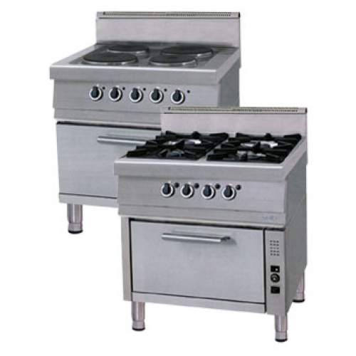 Buy The gas stove with an electric oven of OFO 7075 PS