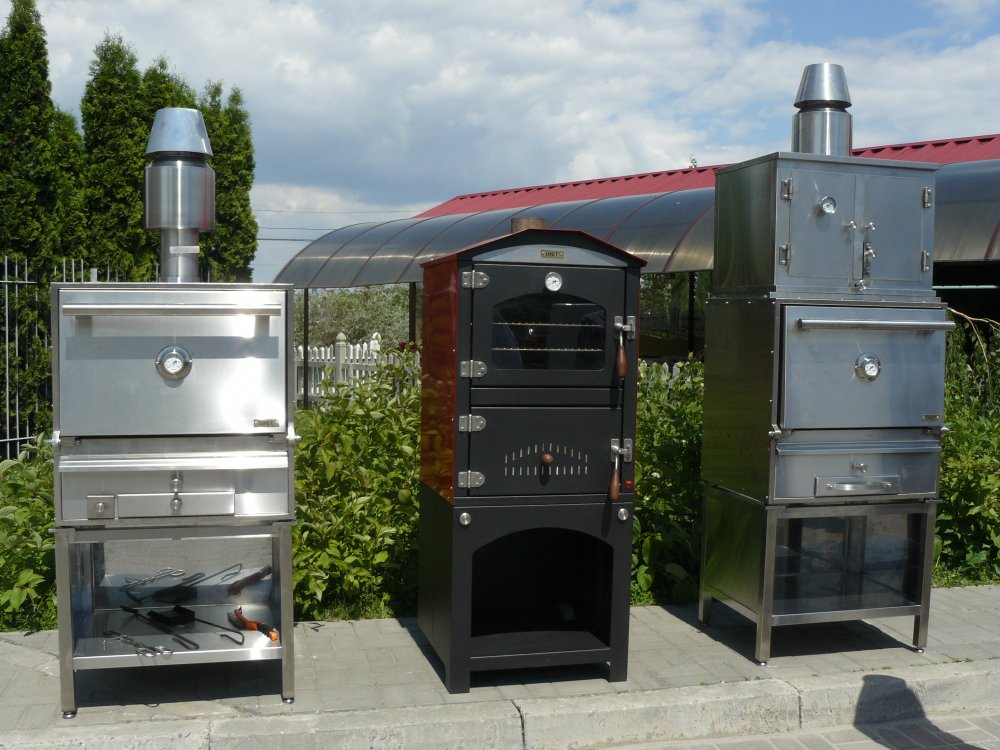 Печь жаровая ресторанная BQB-2, Хоспер