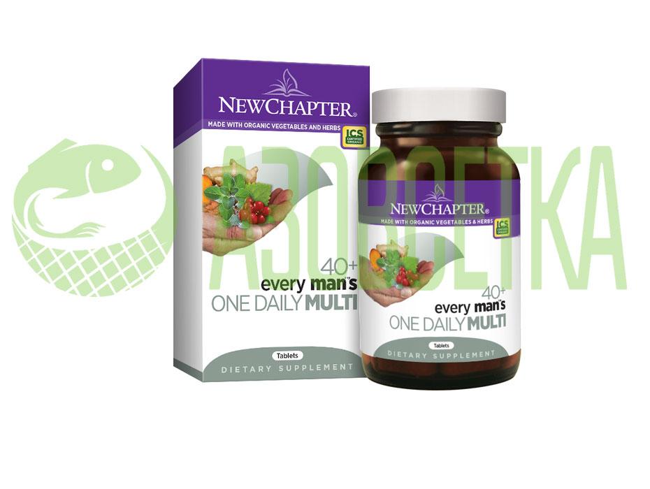 Комплекс мультивитиминов для мужчин Every Man's One Daily 40+ Multi, 72 таб.