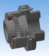 Coupling gear MZP-8