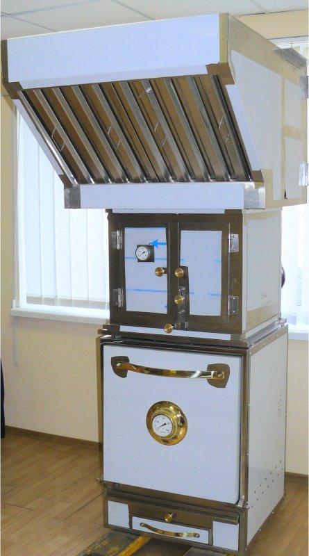 Гидрофильтр с зонтом ZGF-1, для печей BQB-1, BQS-1, BQM-1.