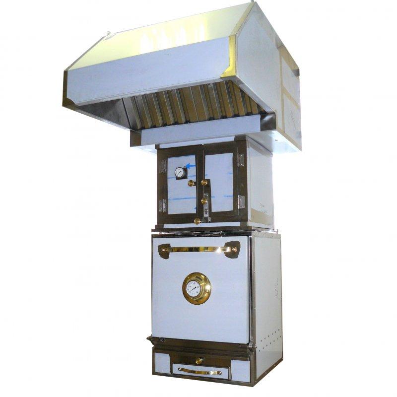 Гидравлический искрогаситель встренный в зонт ZGF-4, для печей BQ-4H
