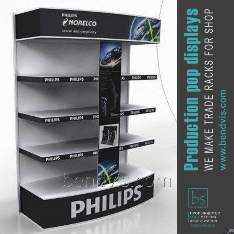 Железные стеллажи Philips