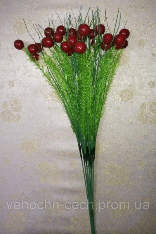 Веточка  искусственная ягода в расцветках