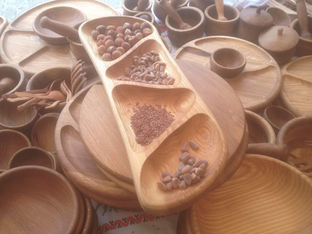 Деревянные доски для пищи