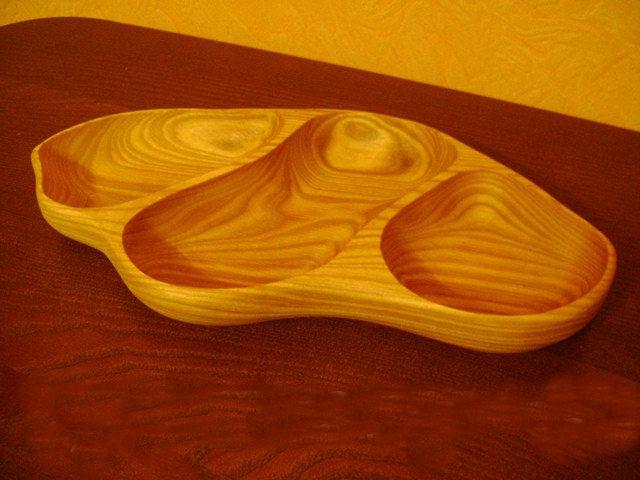 Купить Деревянная тарелка для баров