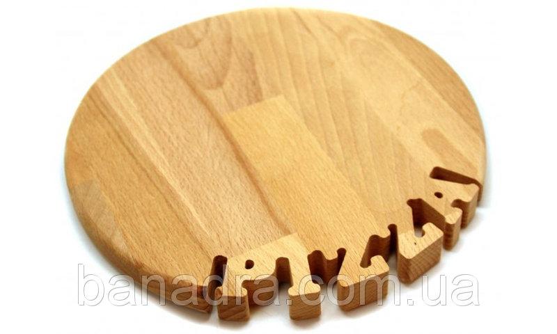 Деревянные тарелки для пиццы