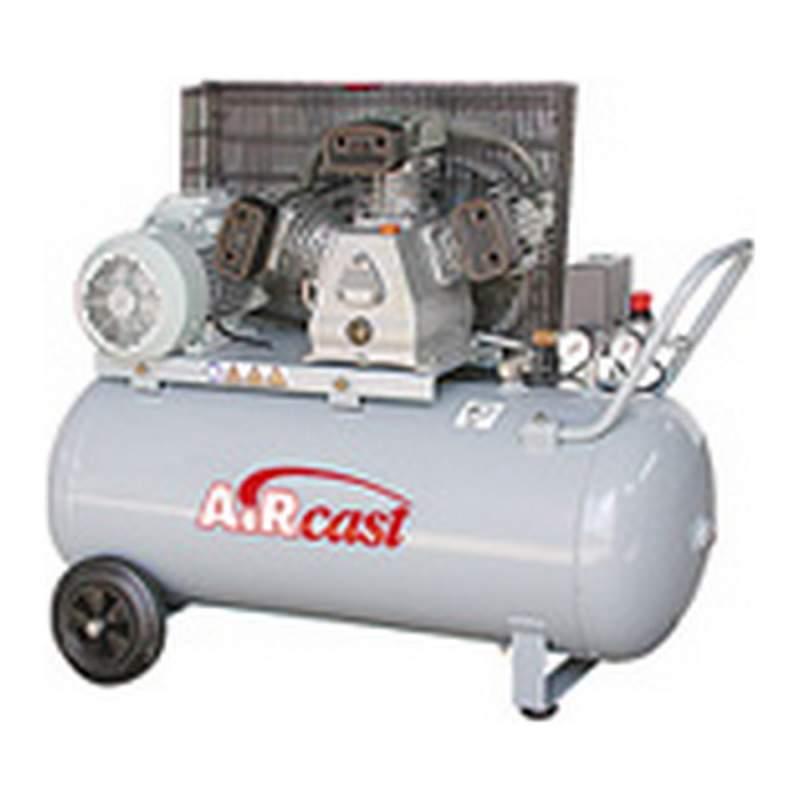 Профессиональный компрессор с клиноременной передачей Remeza Aircast