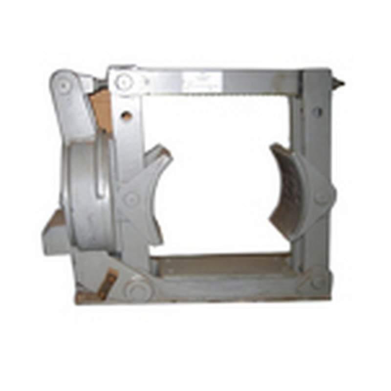 Колодочный тормоз общего назначения типа ТКП с электромагнитом постоянного тока для шкивов диаметром от 400 до 800 мм