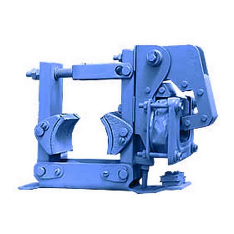 Колодочный тормоз общего назначения типа ТКТ с электромагнитом переменного тока для шкивов диаметром то 100 до 300 мм