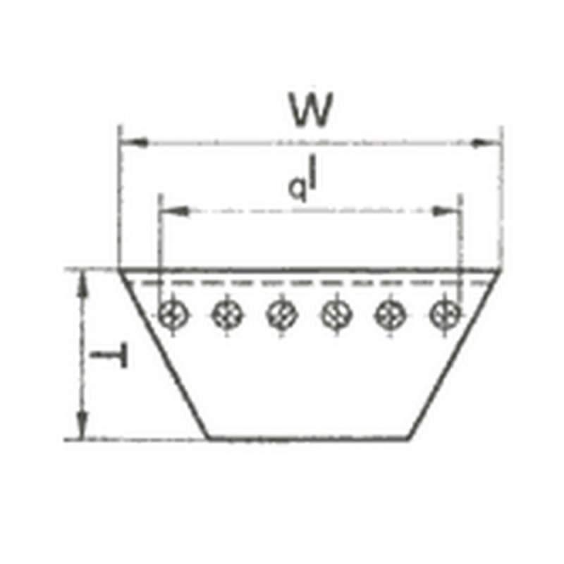 Ремень полиуретановый круглый и клиновый серии RU
