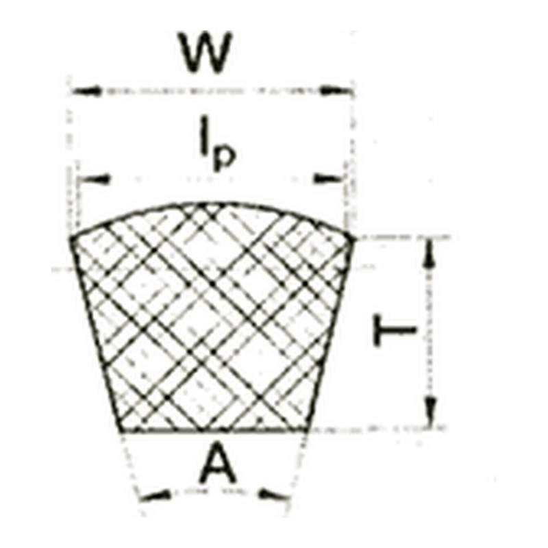 Ремень вариаторный ГОСТ 24848.1-81, ТУ59-275-96