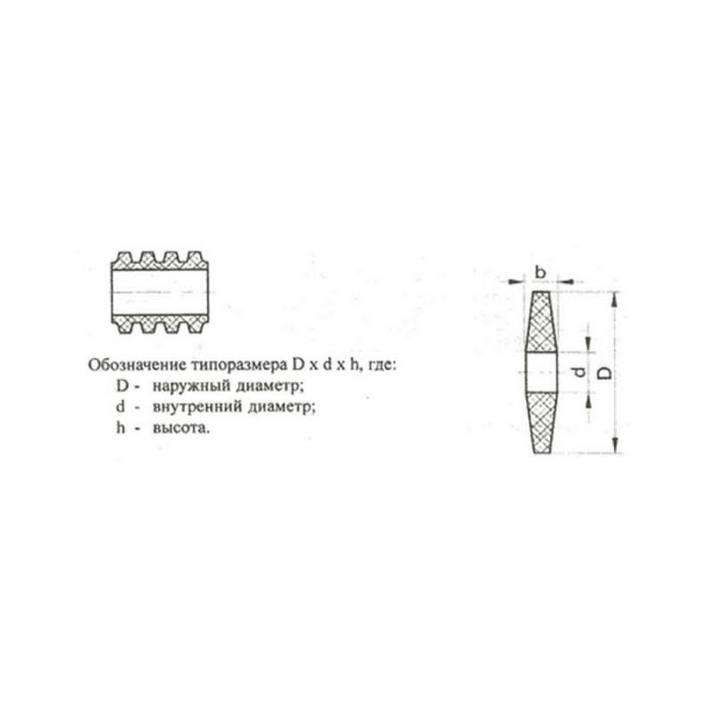 Резиновые элементы муфт упругих втулочно-пальцевых МУВП