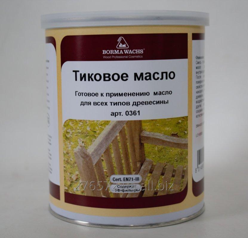 Buy Tikovy ST Teak Oil oil