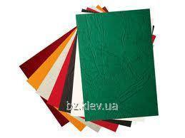 Картонная обложка Кантри А4 кожа красная, 100 шт
