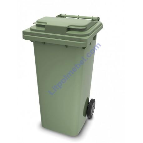Пластиковый мусорный контейнер 240 л