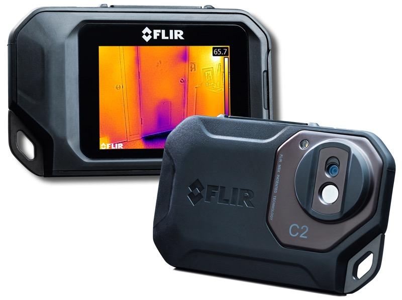 Профессиональная тепловизионная система FLIR C2 (-10...150 ºС), тепловизор