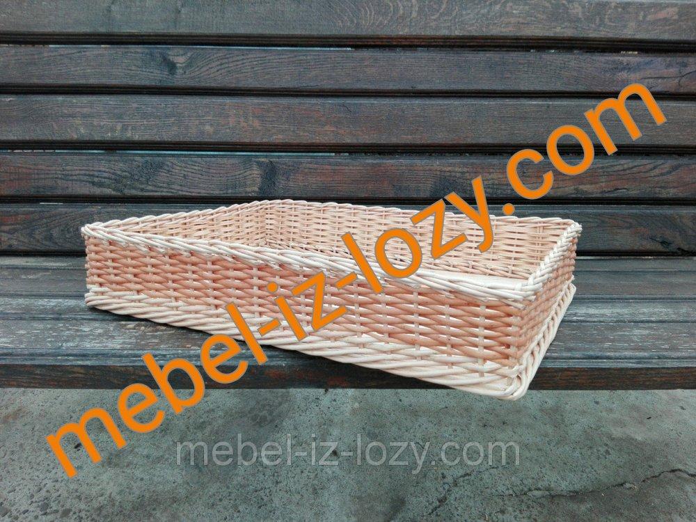 Купить Плетеная корзина для выпечки 50*30 с высотой 8 см
