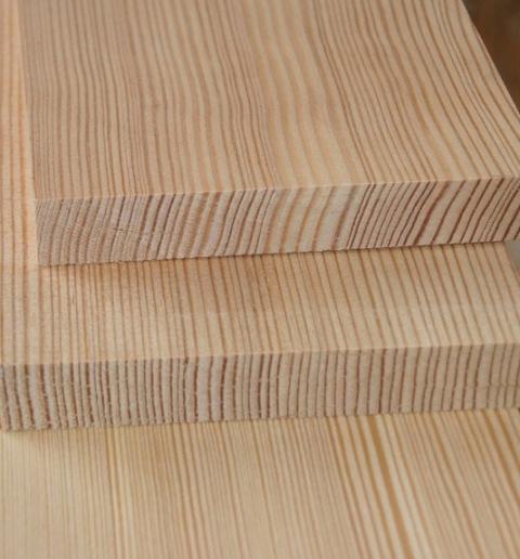 Доска обрезная сухая строганная лиственница