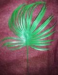Лист пальмы средний пластиковый