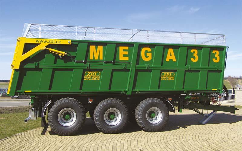 Кузов с выгрузкой в три стороны Mega 33