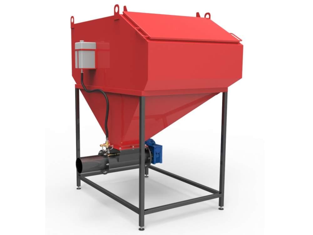 Купить Шнековая система автоматизированной подачи топлива 700-800 кВт