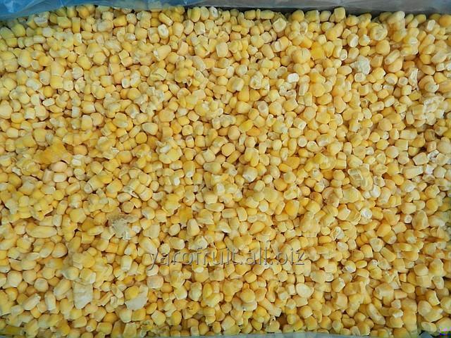 Замороженная кукуруза зерно, цукровая суперсладкая (Украина)