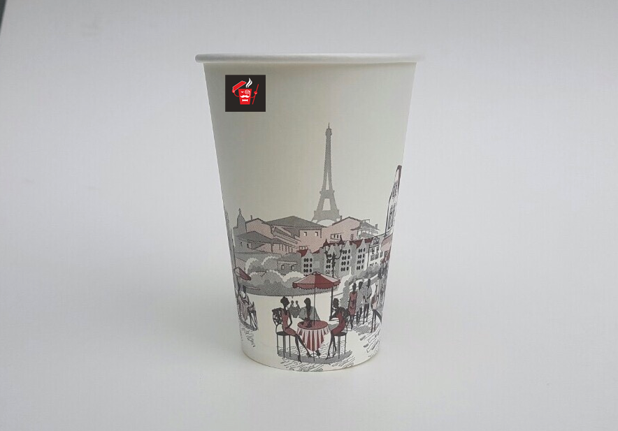 A single-layer paper cups