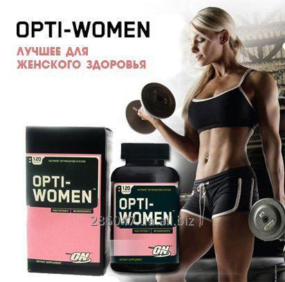 Vitamins and minerals for women of Opti-Women (120 tabs)