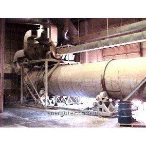 Tørketrommel malmkonsentrater, jern