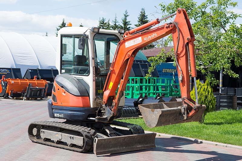 Buy Diesel Kubota U25 mini-excavator