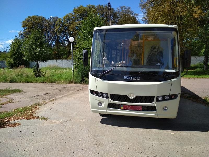 Автобус ATAMAN A-092H6 Городской Низкопольный