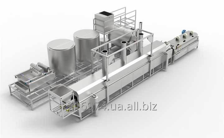 Линия для производства Кукурузных чипсов ÇRZ-2000