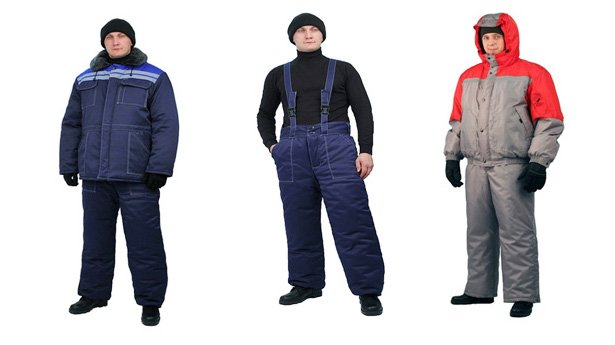 Одежда специальная на синтепоне для защиты от пониженных температур (2 класс защиты) костюмы