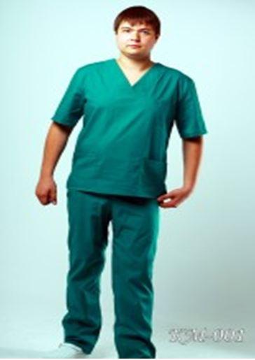 Медицинский костюм мужской