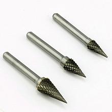 Купить Борфреза коническая тип M 8,0 твердосплавная ВК8, арт. 10029