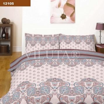 Купить 12105 Комплект постельного белья ранфорс-платинум Вилюта