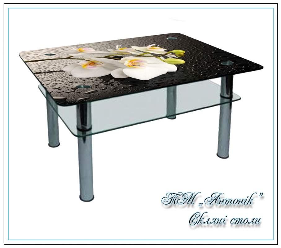 Купить Журнальный стол СТ-104 №173 на металлических опорах