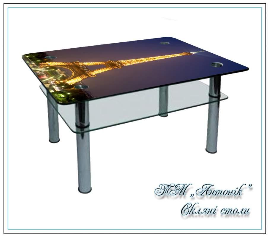 Купить Журнальный стол СТ-104 Париж на металлических опорах