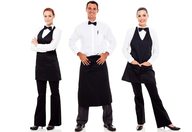 Clothes for the waiter