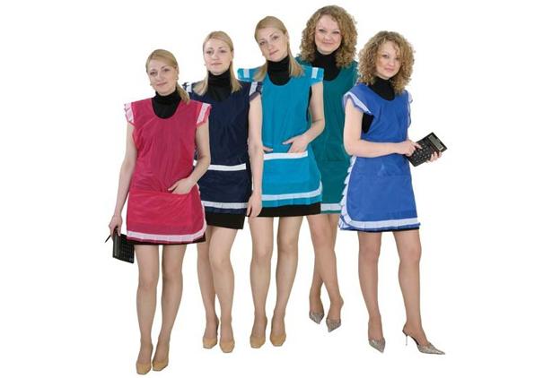 Speciální oblečení pro prodejce