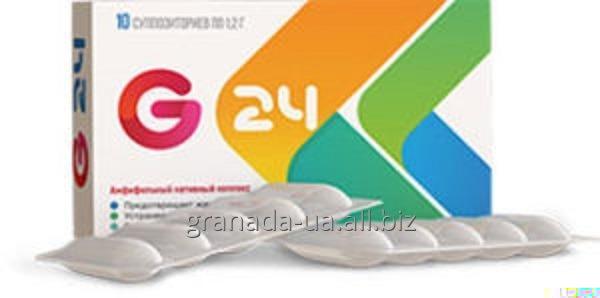 Свечи от геморроя G24 Джи 24