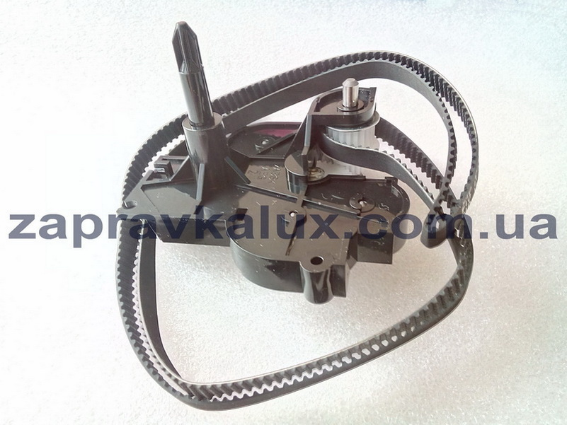 Knot of rewind and drive of the carriage assembled, Epson FX-890 1234467